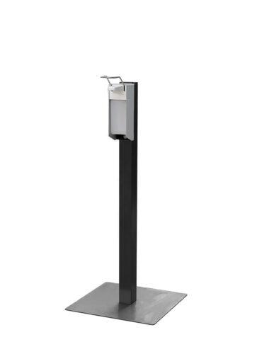 CleanGood industriële staal desinfectiezuil met elleboog desinfectie dispenser 2